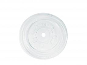 PLA Flachdeckel mit Rundstanzung (78 mm, VE=3.000 Stück)