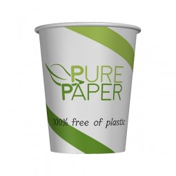 PurePaper Becher einwandig, 100% plastikfrei