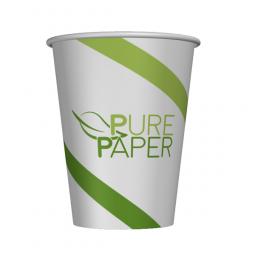 PurePaper Becher einwandig, plastikfrei